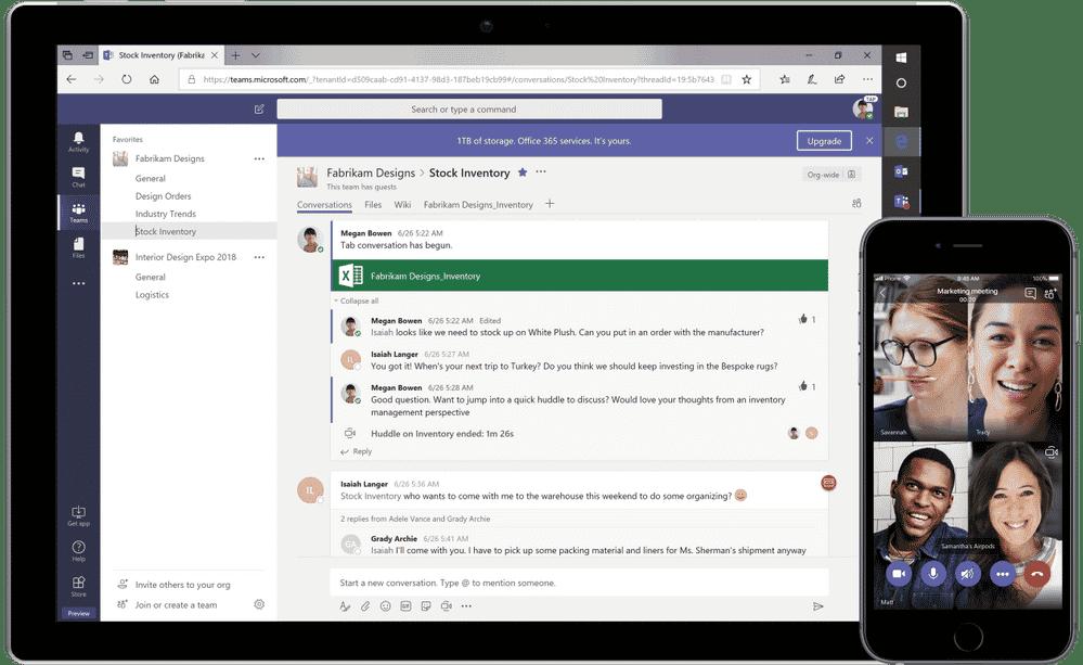 Microsoft Teams Collaboration Chat Storage Power