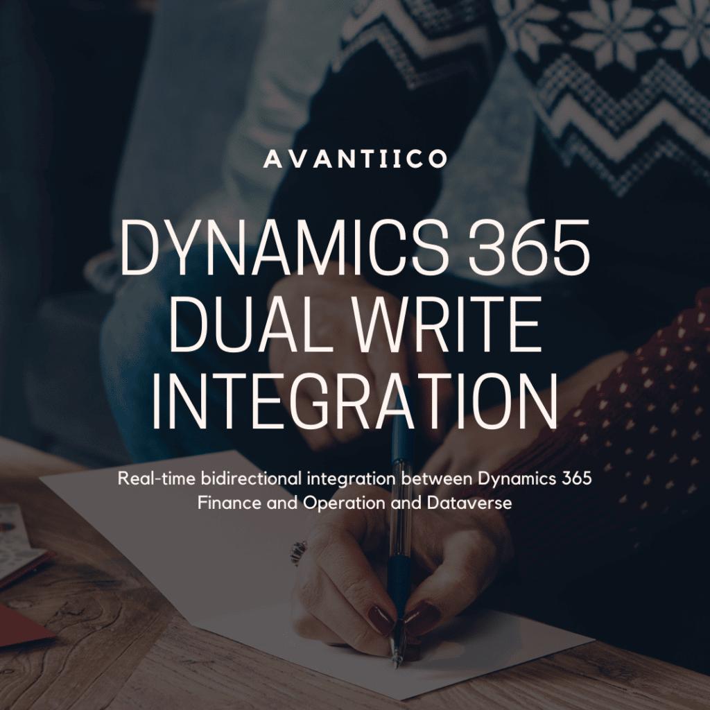 Dynamics 365 Dual Write Integration