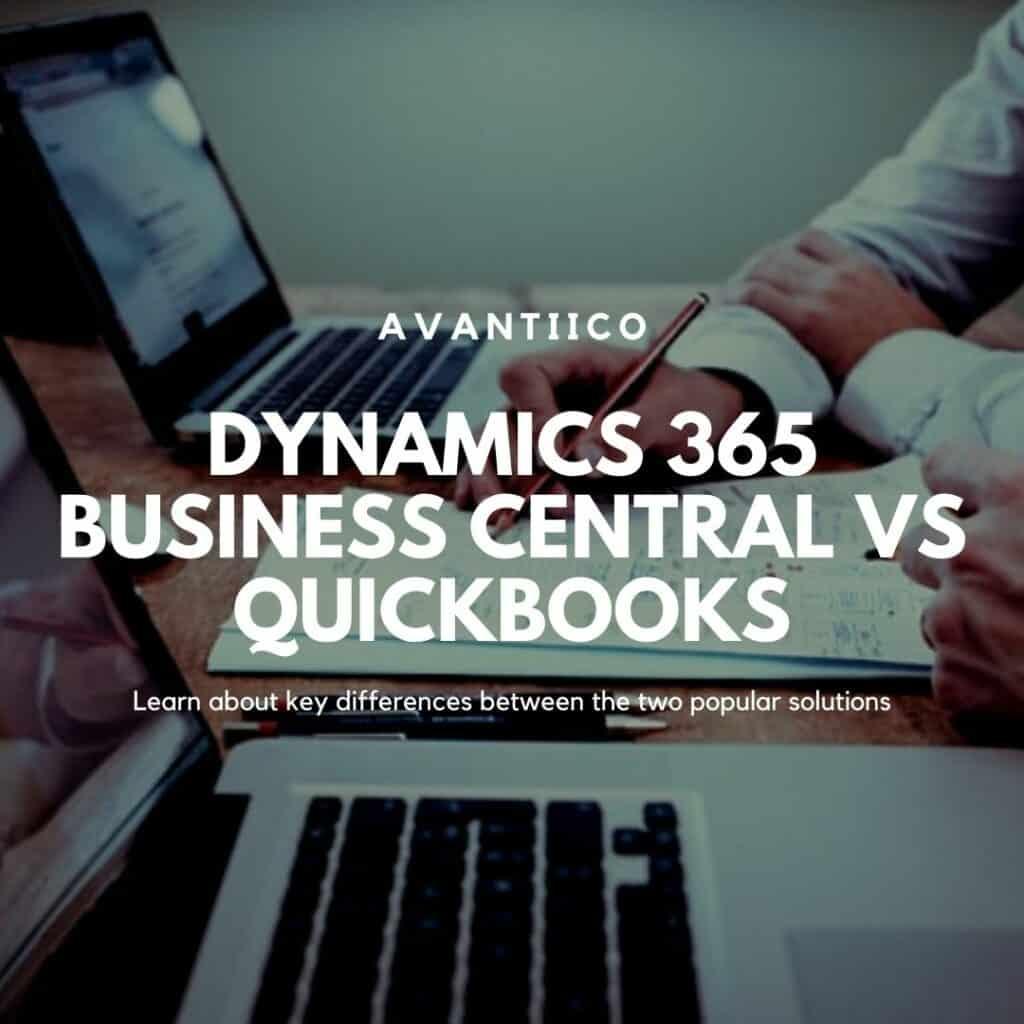Business Central vs Quickbooks