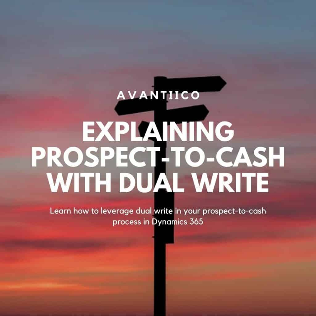 Dual write prospect to cash hero